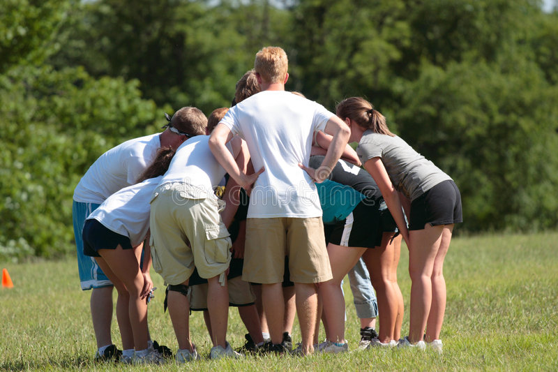 Download Sports Team Huddle 2 stock photo. Image of children, loose - 2773492