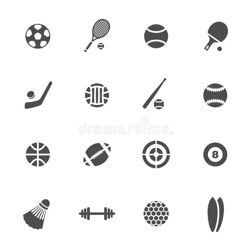 Sports theme icon set