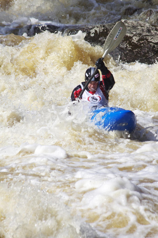 Sports : Transporter de Whitewater image stock
