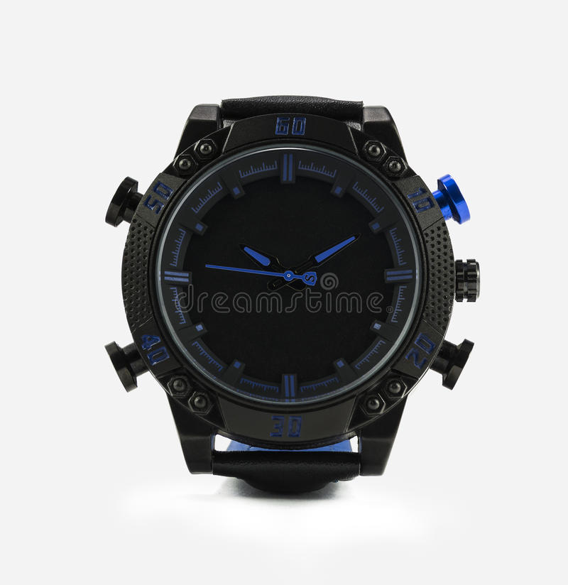 Sports watches royalty free stock photo