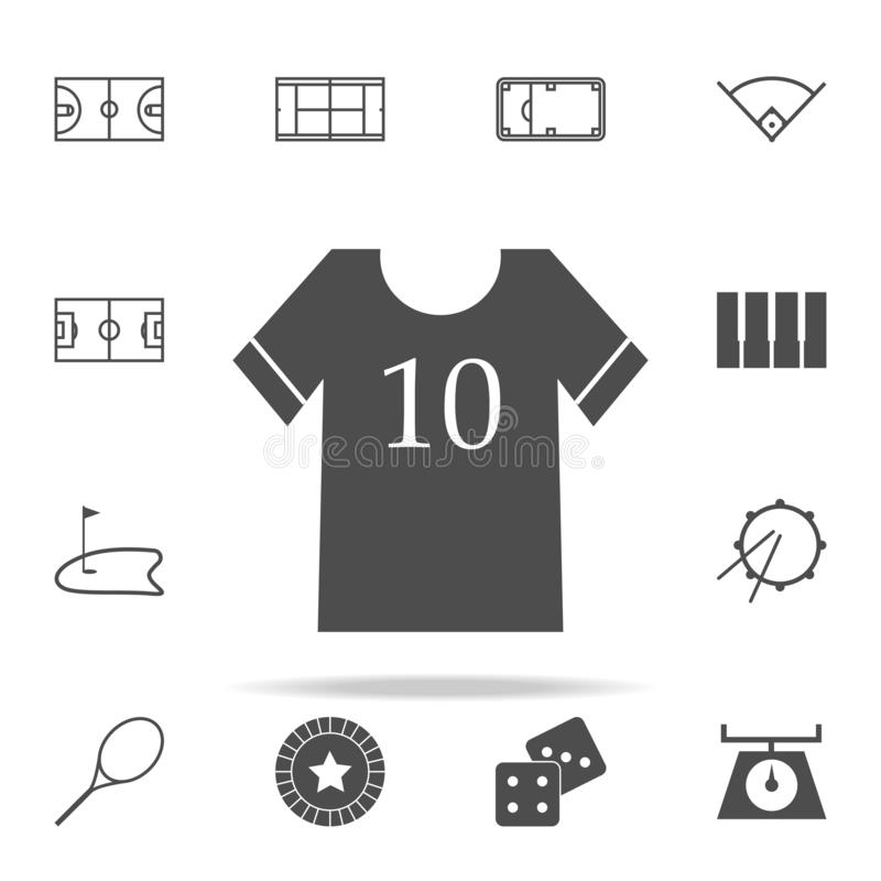 Sports wear icon. web icons universal set for web and mobile. On white background vector illustration