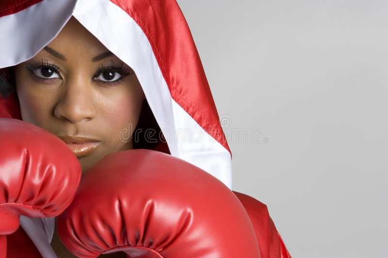 Download Sports Woman stock image. Image of robe, punch, person - 8993967