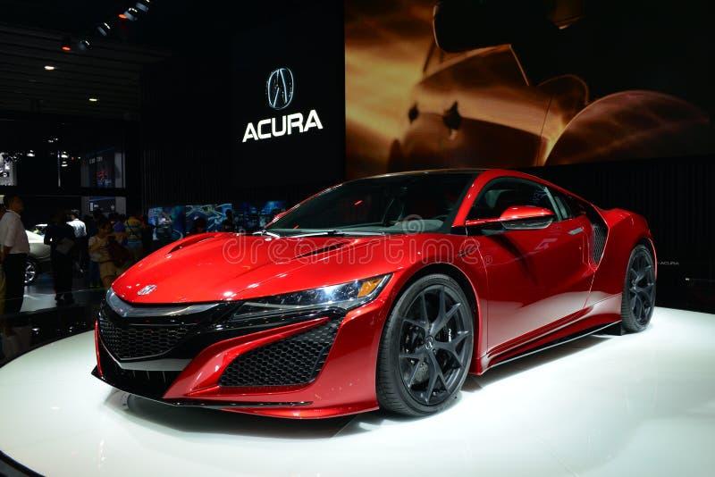 Sportscar ACURA RDX DEBUT royaltyfria foton