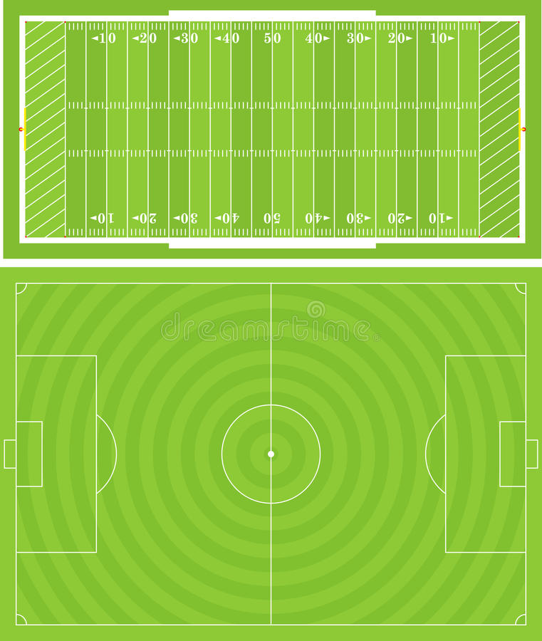 Download SportsFields_1 stock vector. Image of bounds, line, hash - 15582152