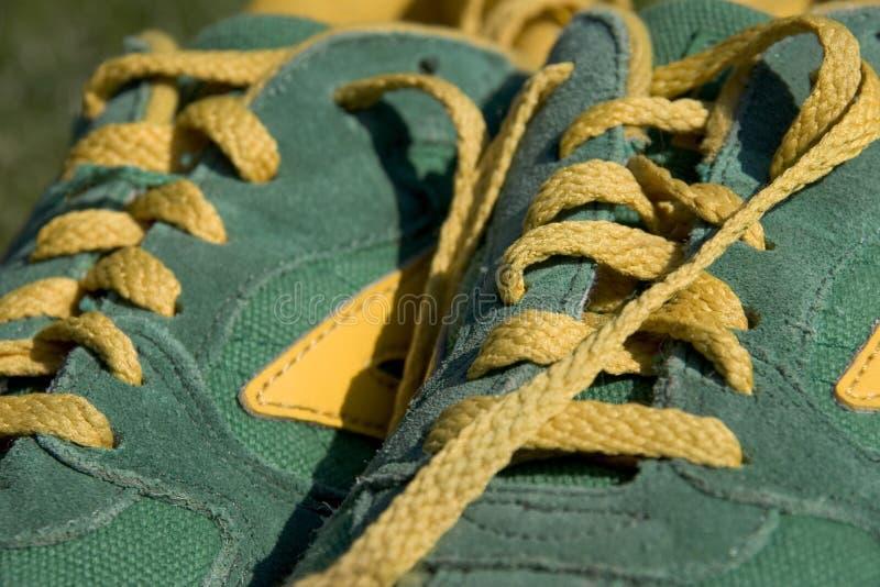 Sportshoes foto de stock royalty free