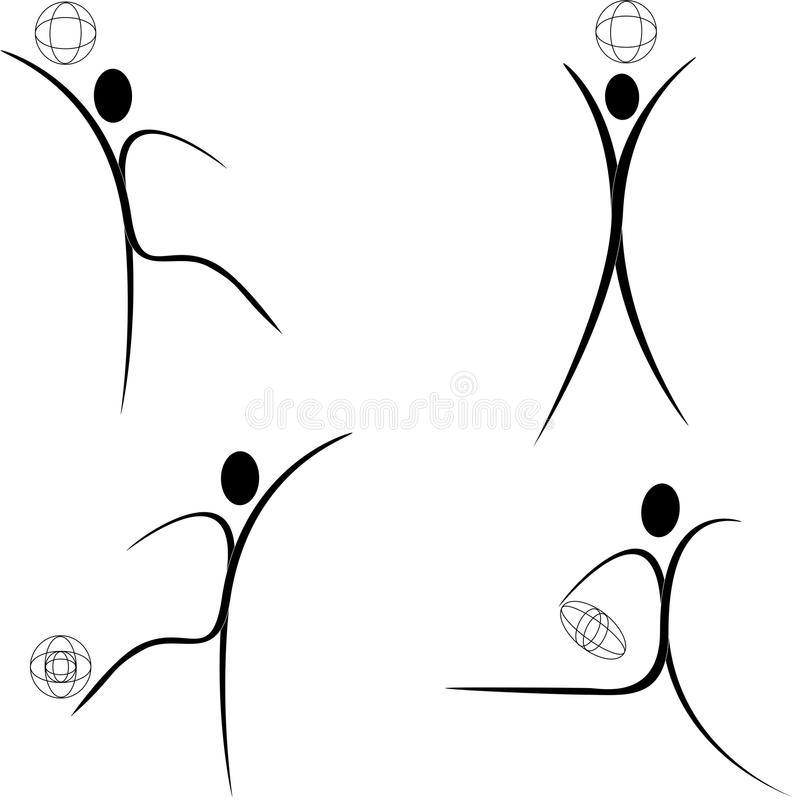 Download Sportsman stock vector. Illustration of beauty, rugby - 11699410