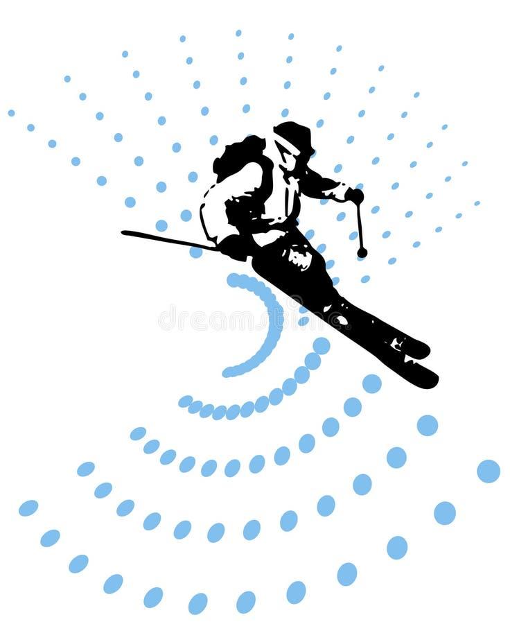 sportsman illustrazione vettoriale