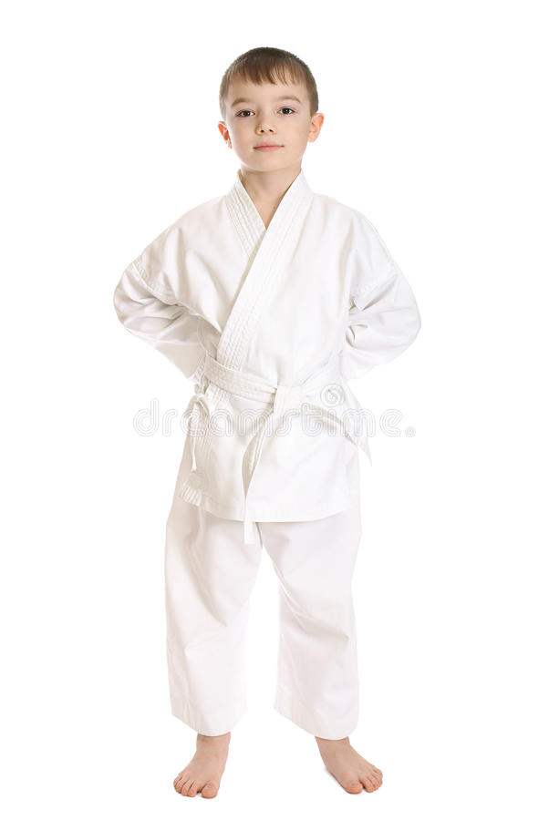 Download Sportsman boy stock image. Image of athletic, karate - 18446175