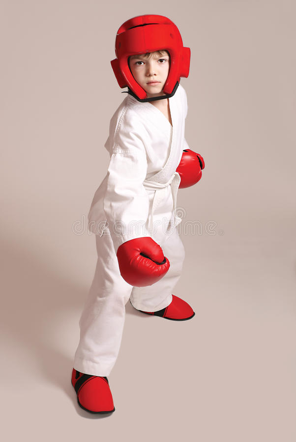 Download Sportsman Boy Royalty Free Stock Images - Image: 21012189