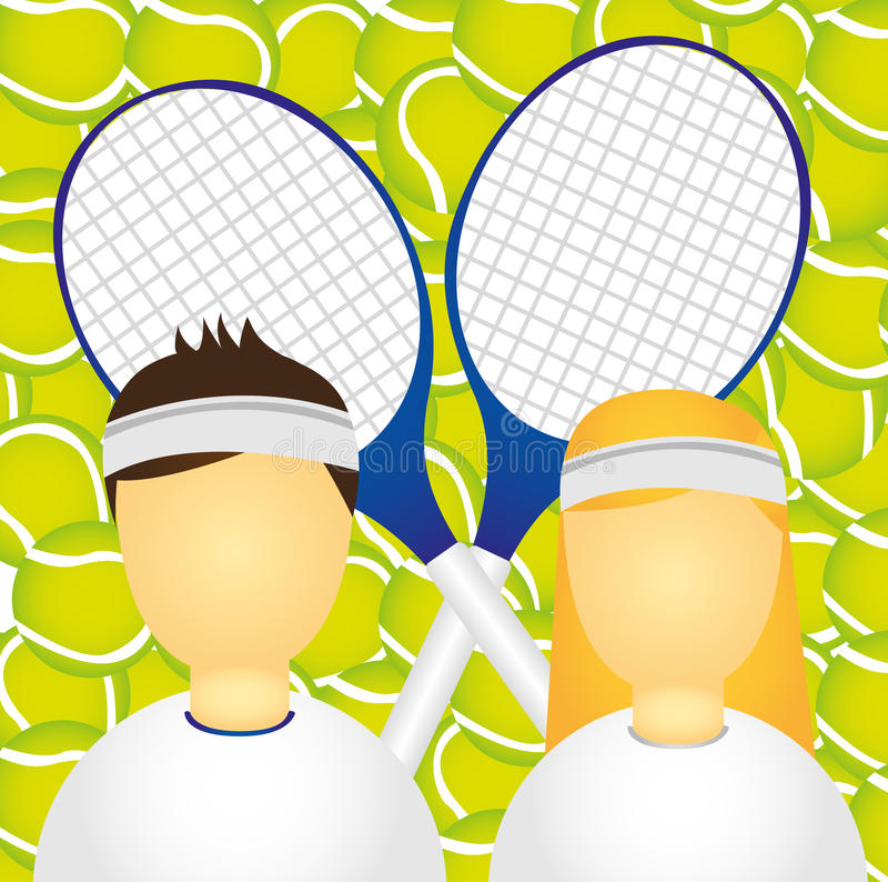 Download Sportsman And Sportswoman Royalty Free Stock Photography - Image: 21471057