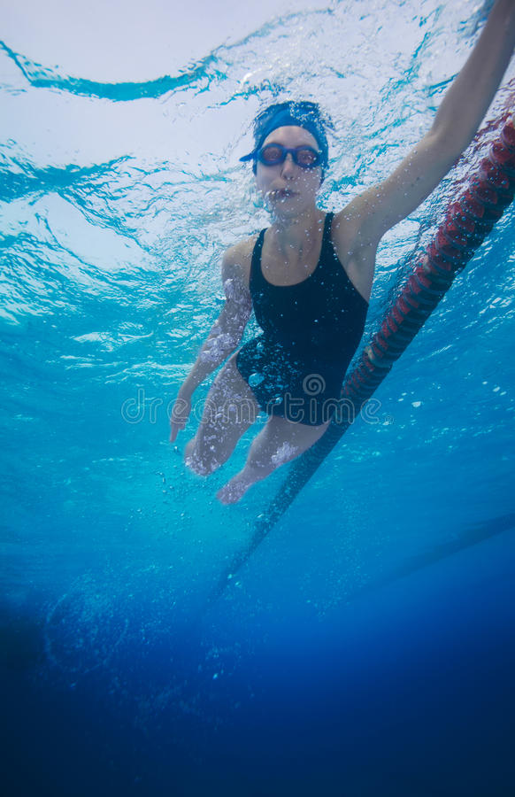 Download Sportsman Swimming In Crawl Style Stock Image - Image: 23782621