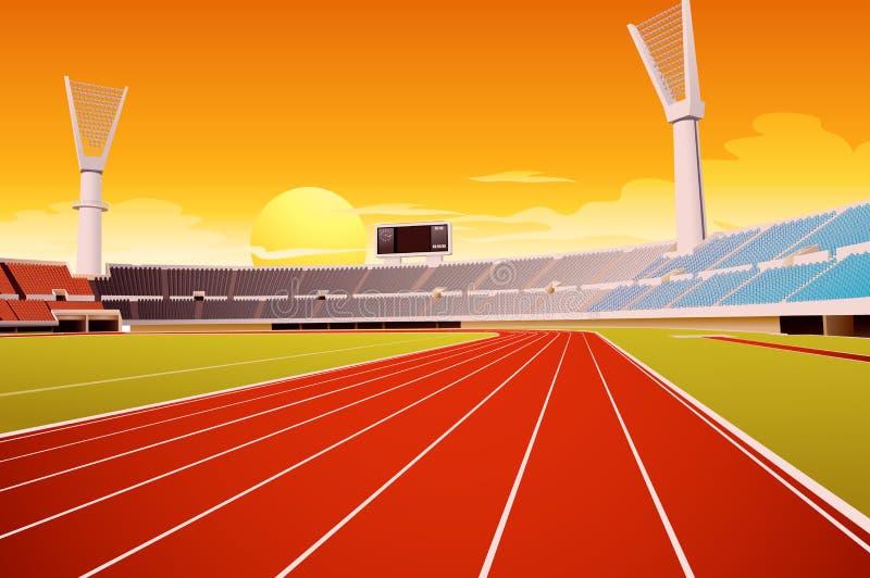 Sportstadion vektor illustrationer