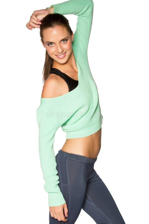 sportswear γυναίκα στοκ φωτογραφία