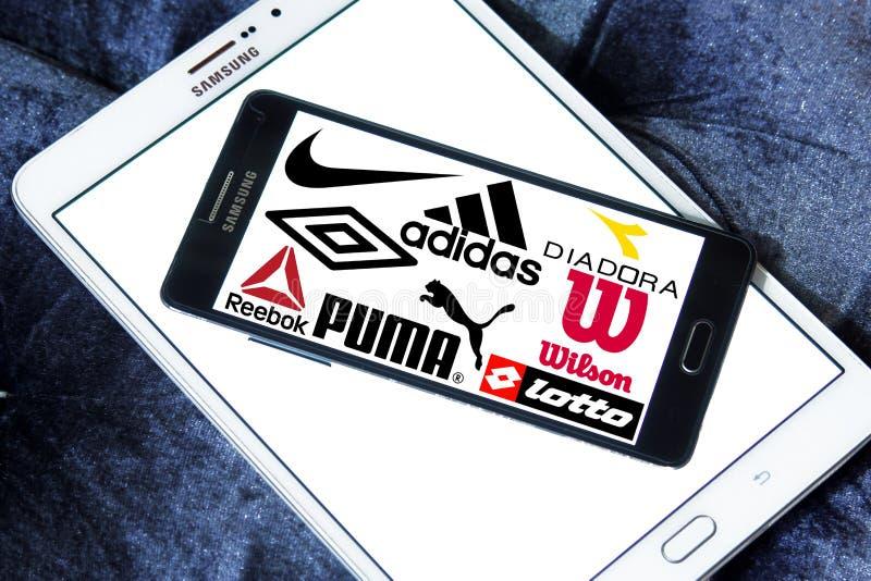 Sportswear ikony i logowie obrazy royalty free
