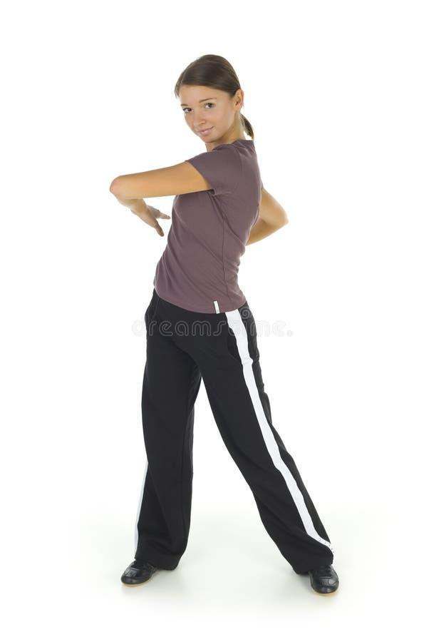 sportswoman arkivbilder