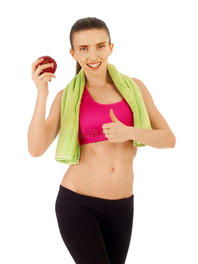 Healthy lifestyle concept royalty free stock photo