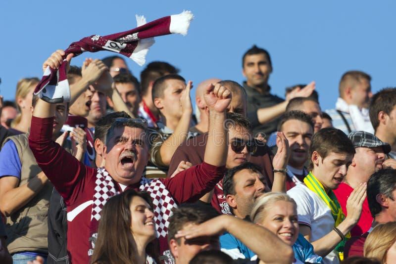 Sportul Studentesc- Snel Boekarest royalty-vrije stock foto's