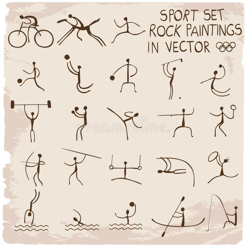 Sportuppsättning vektor illustrationer