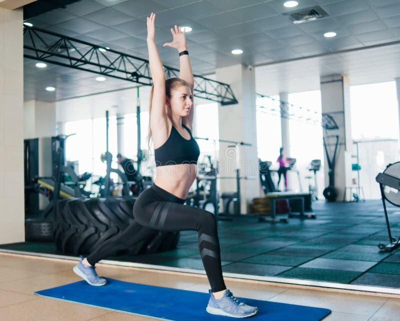Sportvrouw stock foto