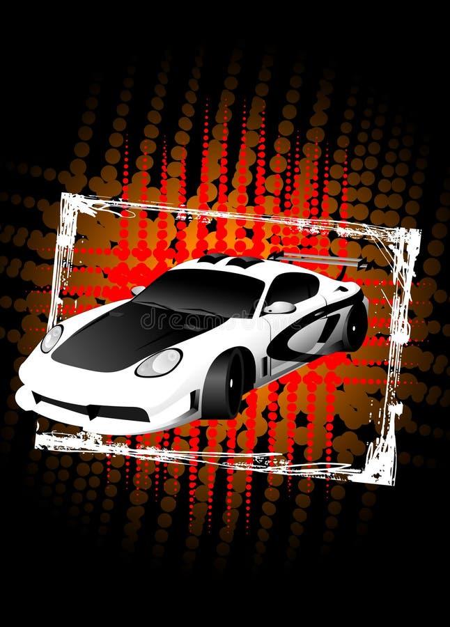Sportwagen 01 royalty-vrije illustratie
