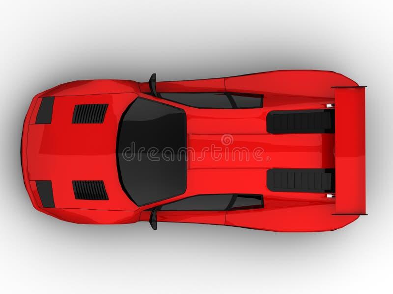 Sportwagen vector illustratie