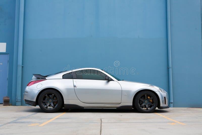 Sportwagen royalty-vrije stock foto's