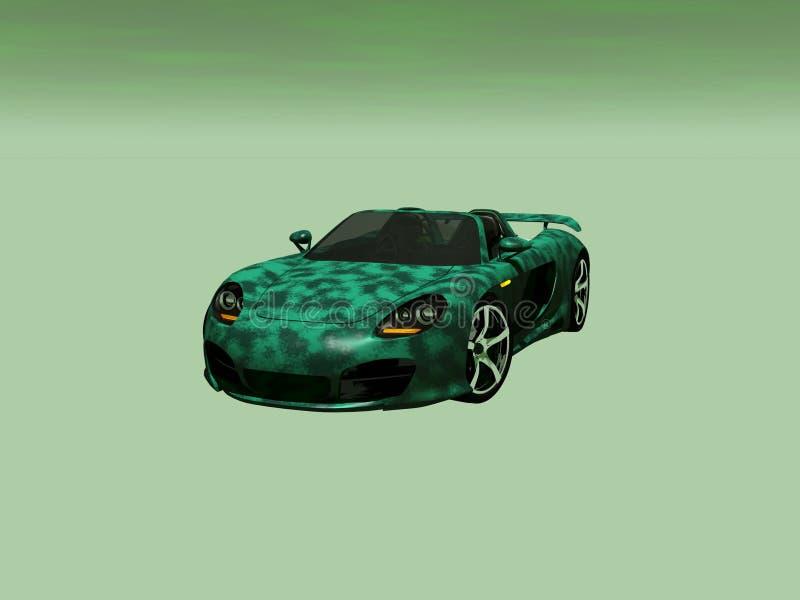 Sportwagen royalty-vrije illustratie