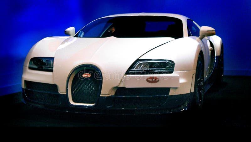 Sportwagen Bugattis Veyron stockbilder