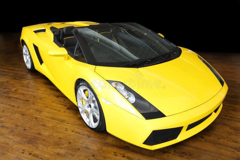 Sportwagen Lamborghini royalty-vrije stock afbeelding