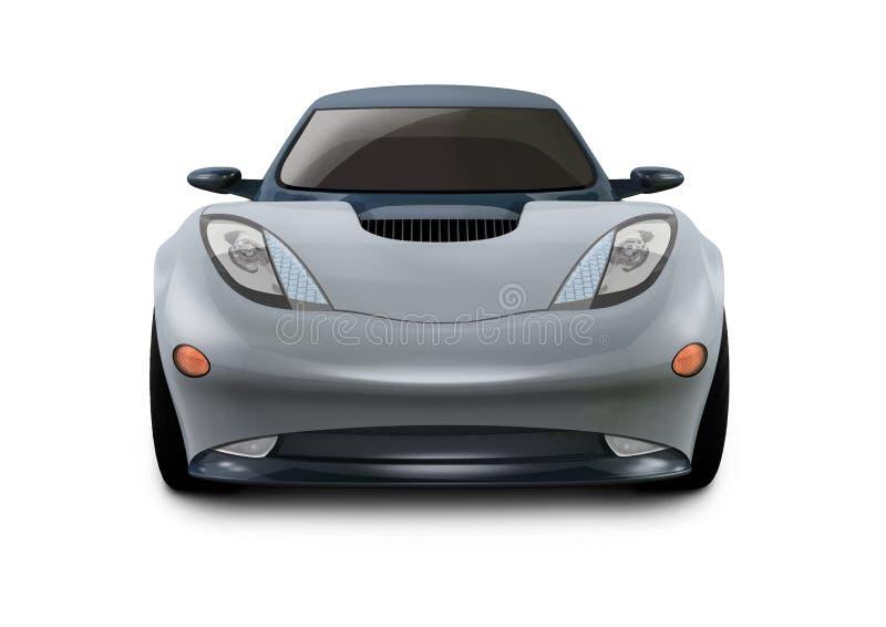 Sportwagen N6 royalty-vrije illustratie