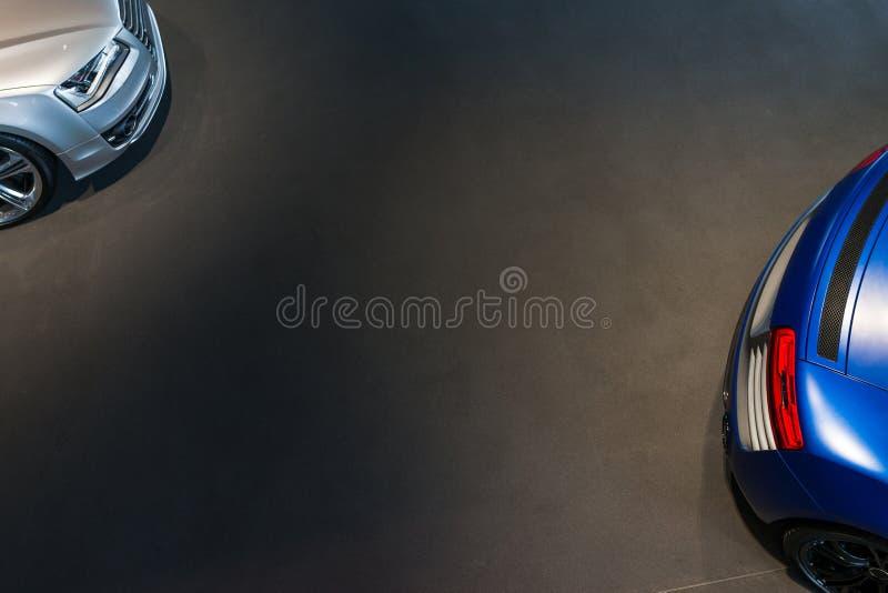 Sportwagen voor verkoop royalty-vrije stock afbeelding