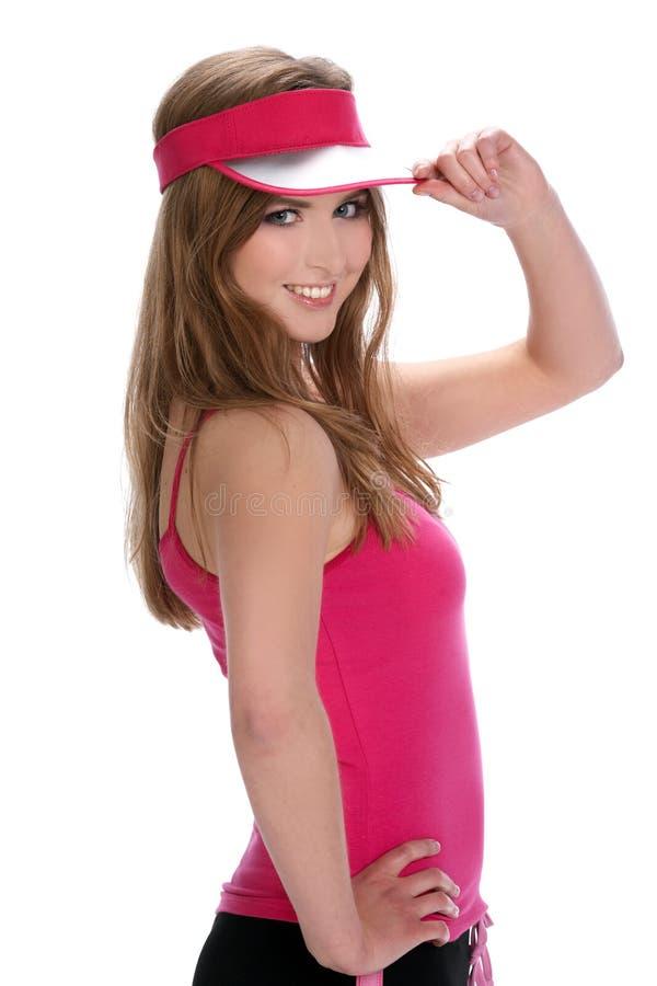 sporty женщина стоковое изображение rf