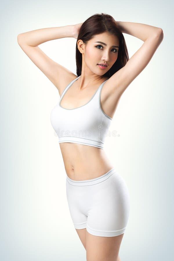 sporty женщина стоковая фотография