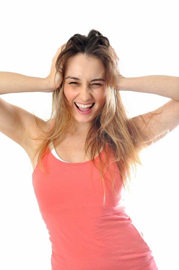 Download Sporty Aerobics Girl stock image. Image of healthy, girl - 28751721