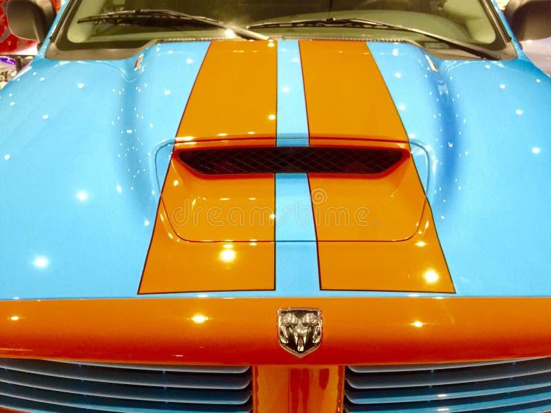 Sporty Dodge baranu furgonetka fotografia royalty free