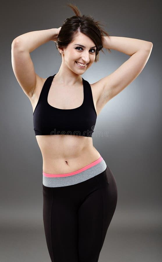 Sporty Ethnic Woman Stock Photo