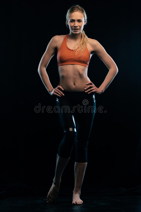 Download Sporty girl stock image. Image of active, pretty, full - 28873363