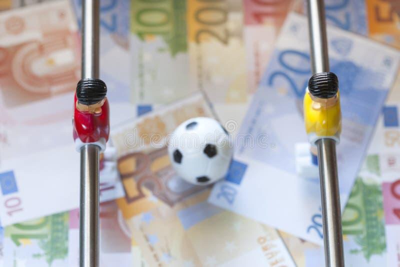 Sporty i pieniądze zdjęcie stock