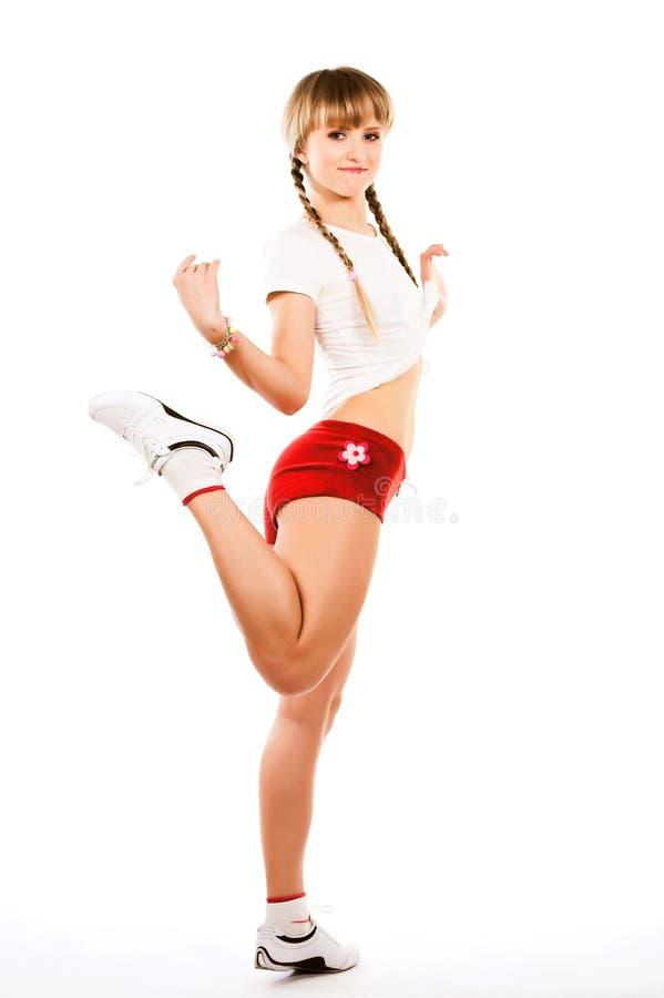 sporty kobiet potomstwa zdjęcie royalty free