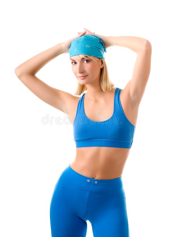 Sporty kobieta fotografia royalty free