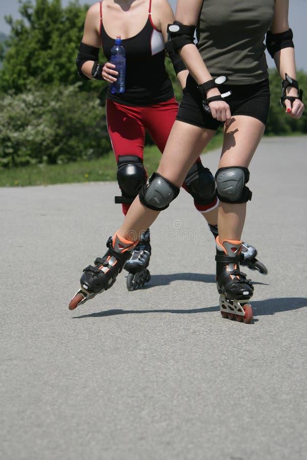 Sporty legs stock photo