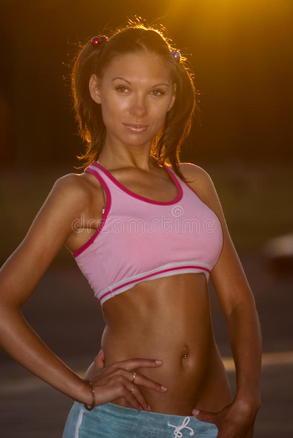 Download Sporty Girl Royalty Free Stock Photo - Image: 15073345