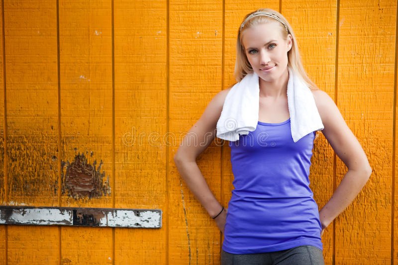Download Sporty woman stock photo. Image of fitness, female, leisure - 13543468