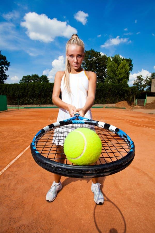 Sporty Woman Stock Photo