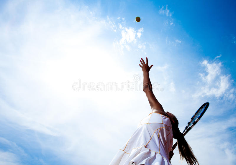 Download Sporty woman stock photo. Image of tennis, sport, woman - 28188968