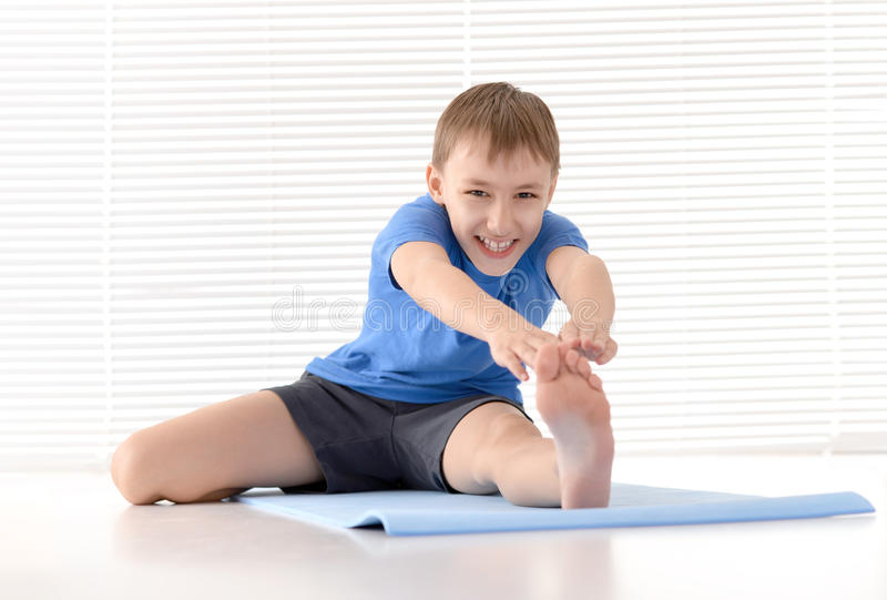 Sporty young guy stock images
