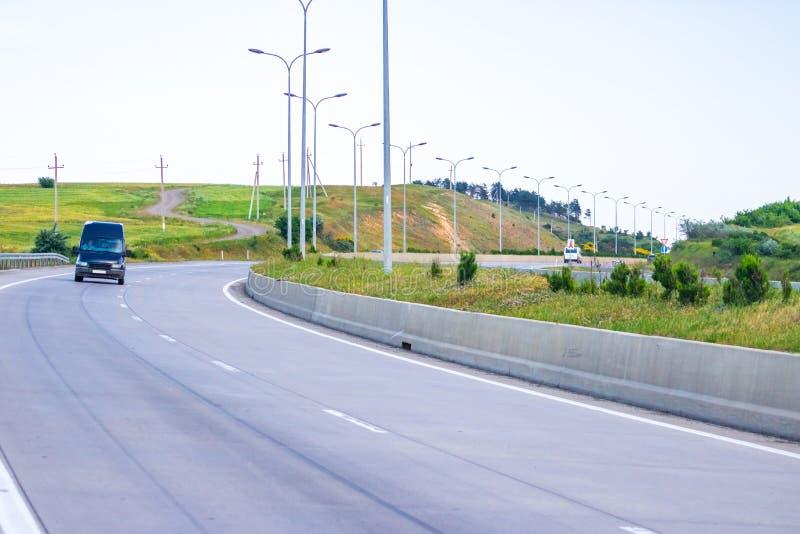 Sposób iść Tbilisi Tbilisi autostrada fotografia stock