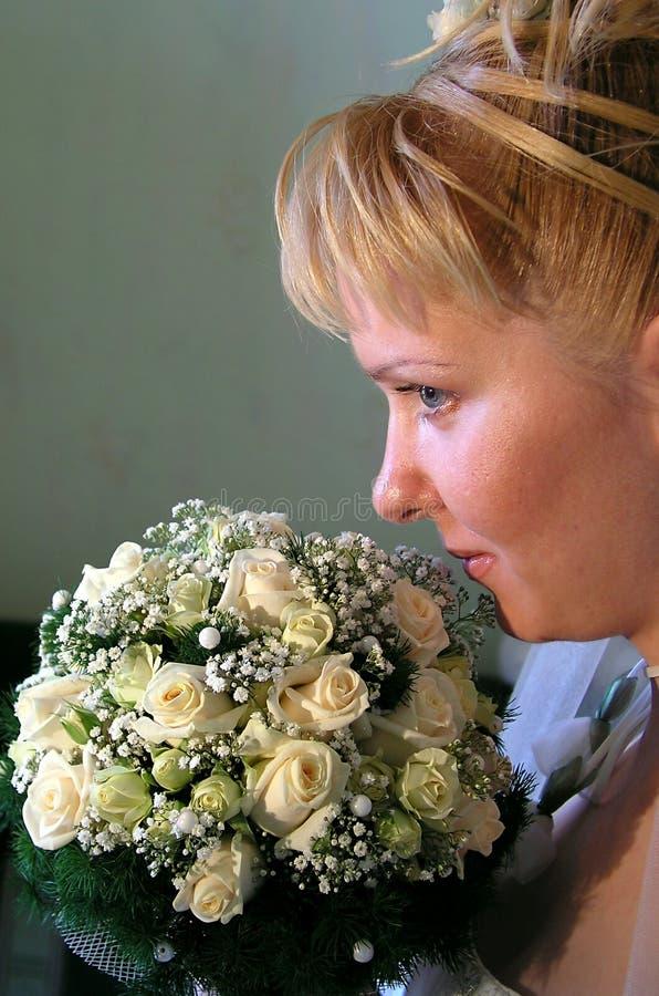 Download Sposa 1 fotografia stock. Immagine di aroma, posy, occhio - 201224