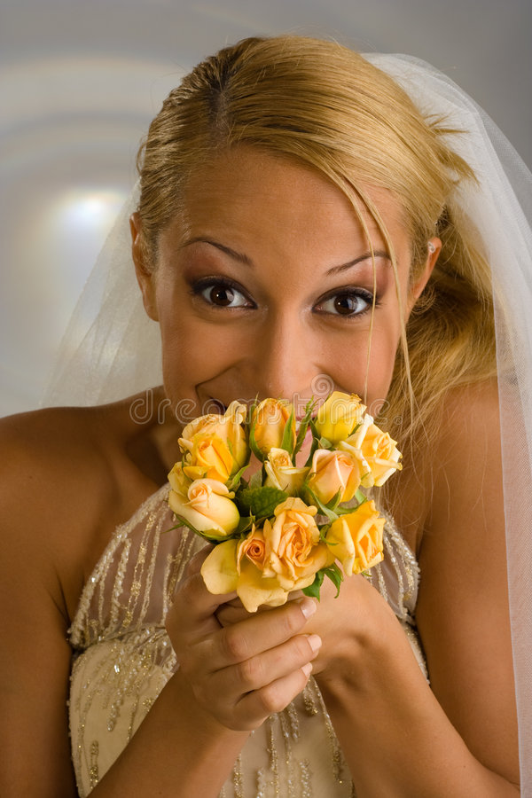 Sposa 2 fotografie stock