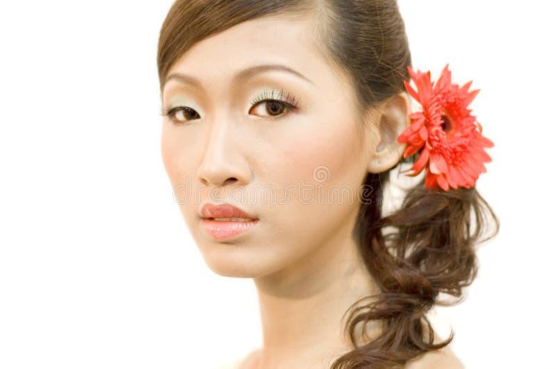 Sposa asiatica fotografie stock libere da diritti